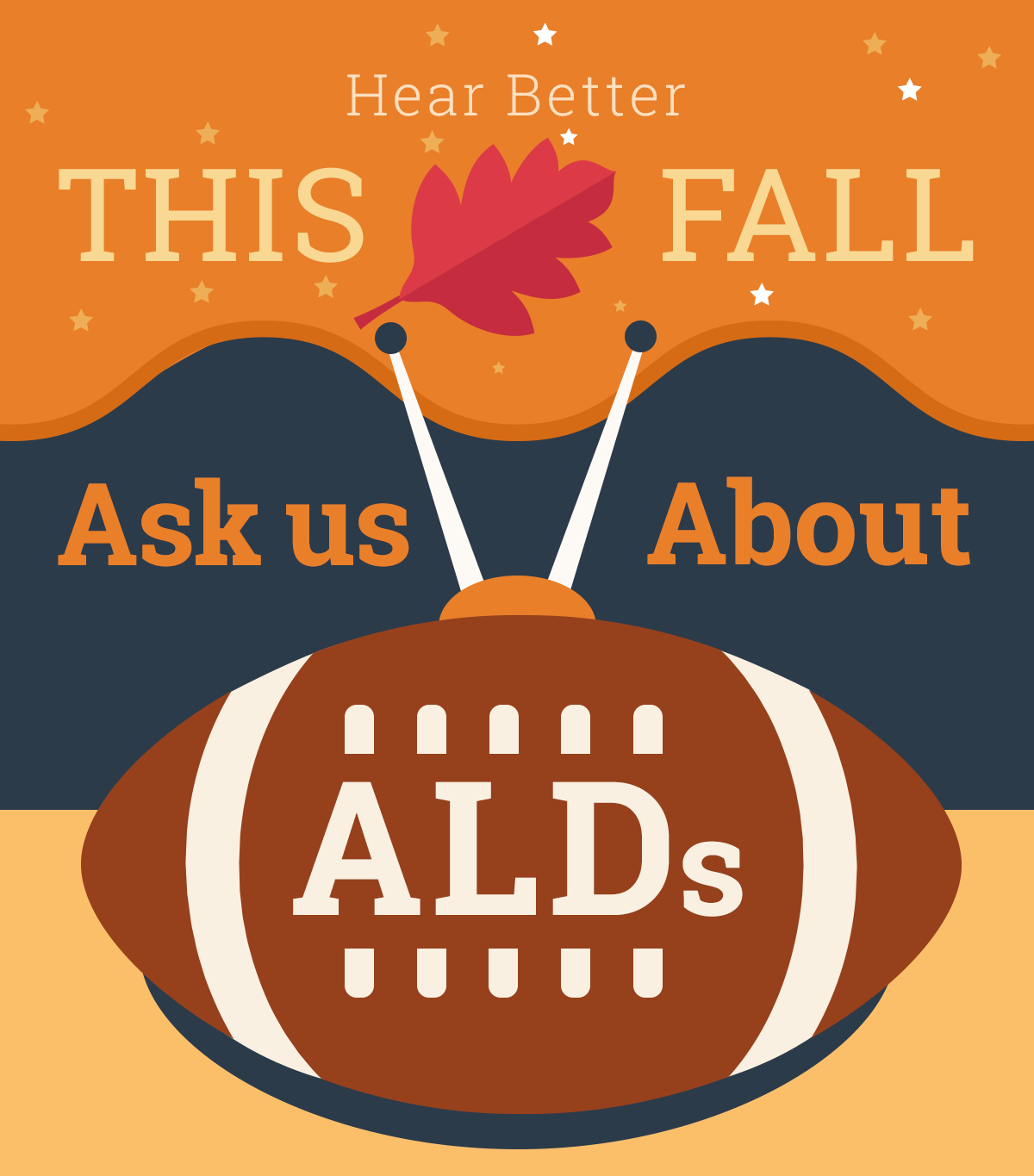best sneakers 0b09e 04959 Hear Better  This Fall Ask Us About ALDs