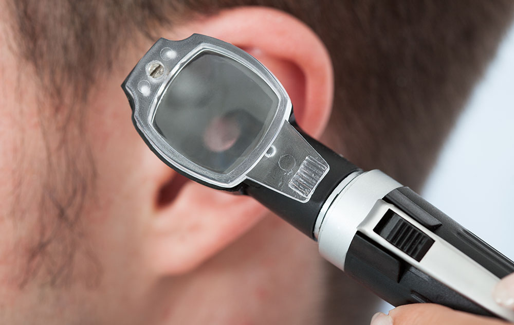 Otoscope and Ear