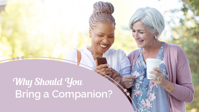 Hearing Care Q & A: Why Should You Bring a Companion?