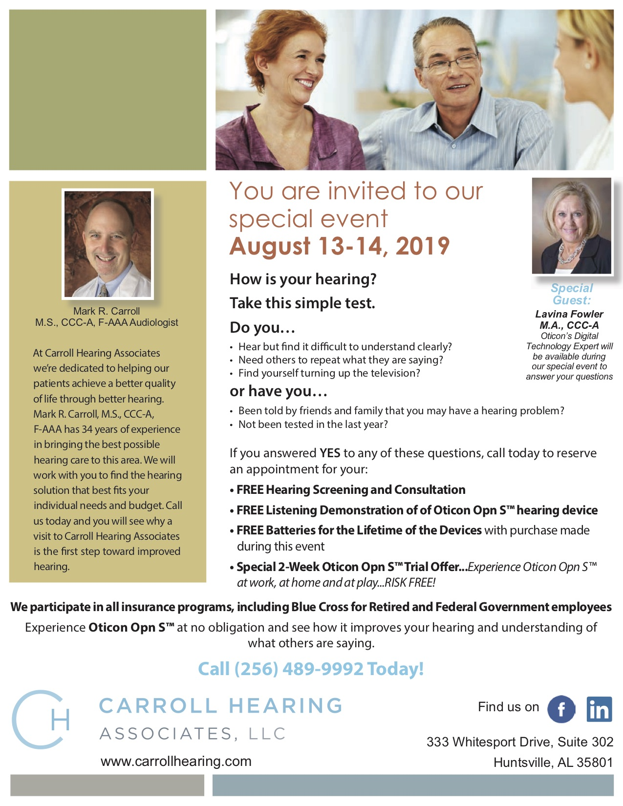 2019-08 Oticon Carroll Hearing AL Wellness flyer.jpg