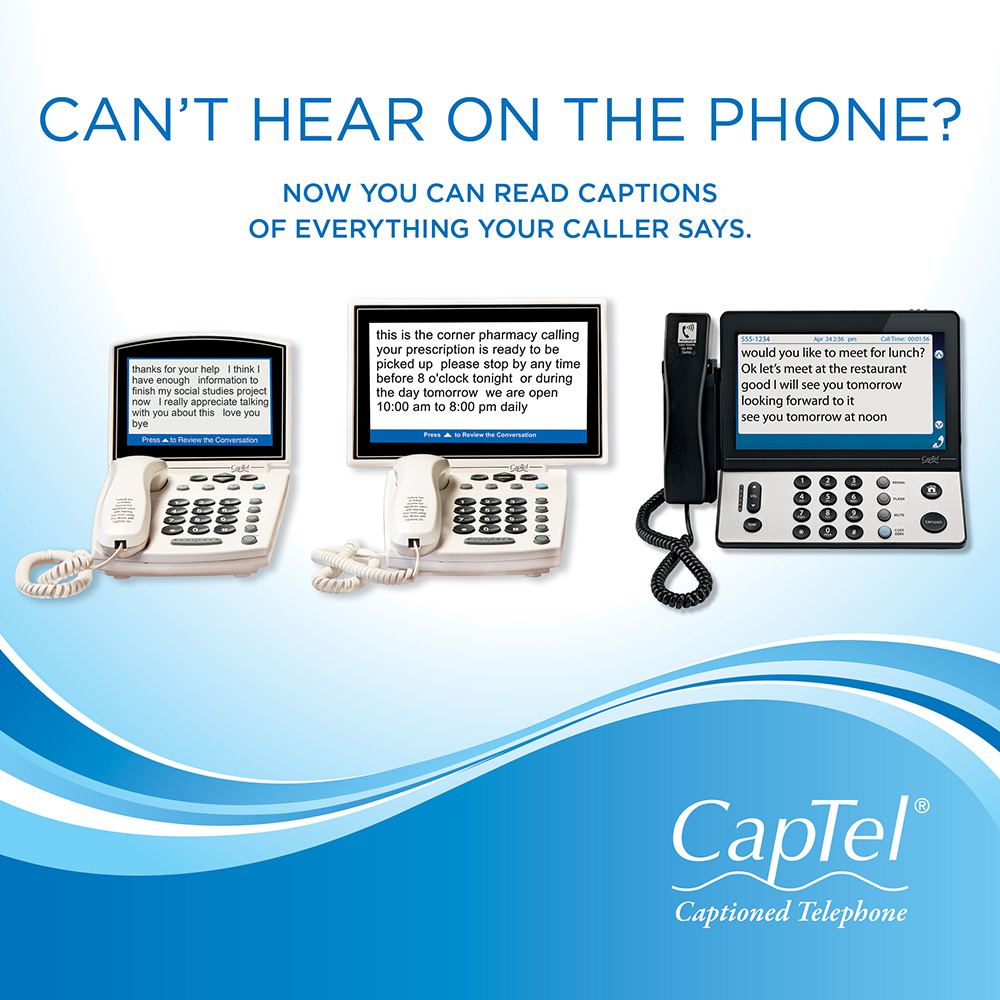 Captioned Telephones