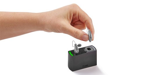 How to insert the ZPower rechargeable hearing aids