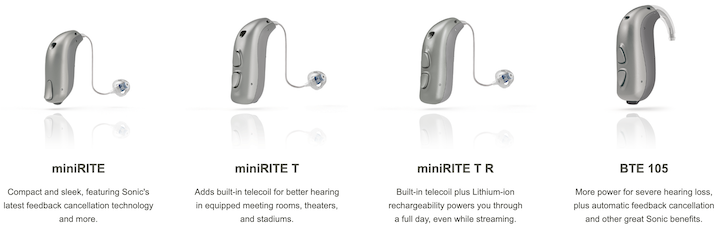 Captivate Hearing Aid Styles