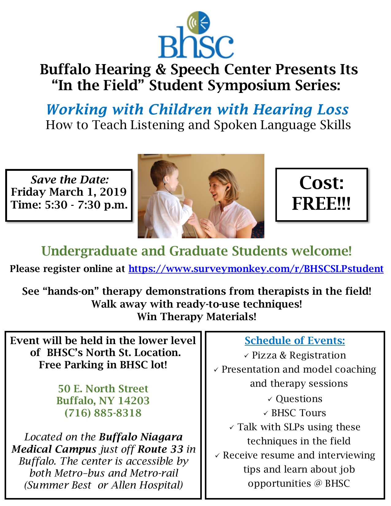 Events Buffalo Hearing Speech Center