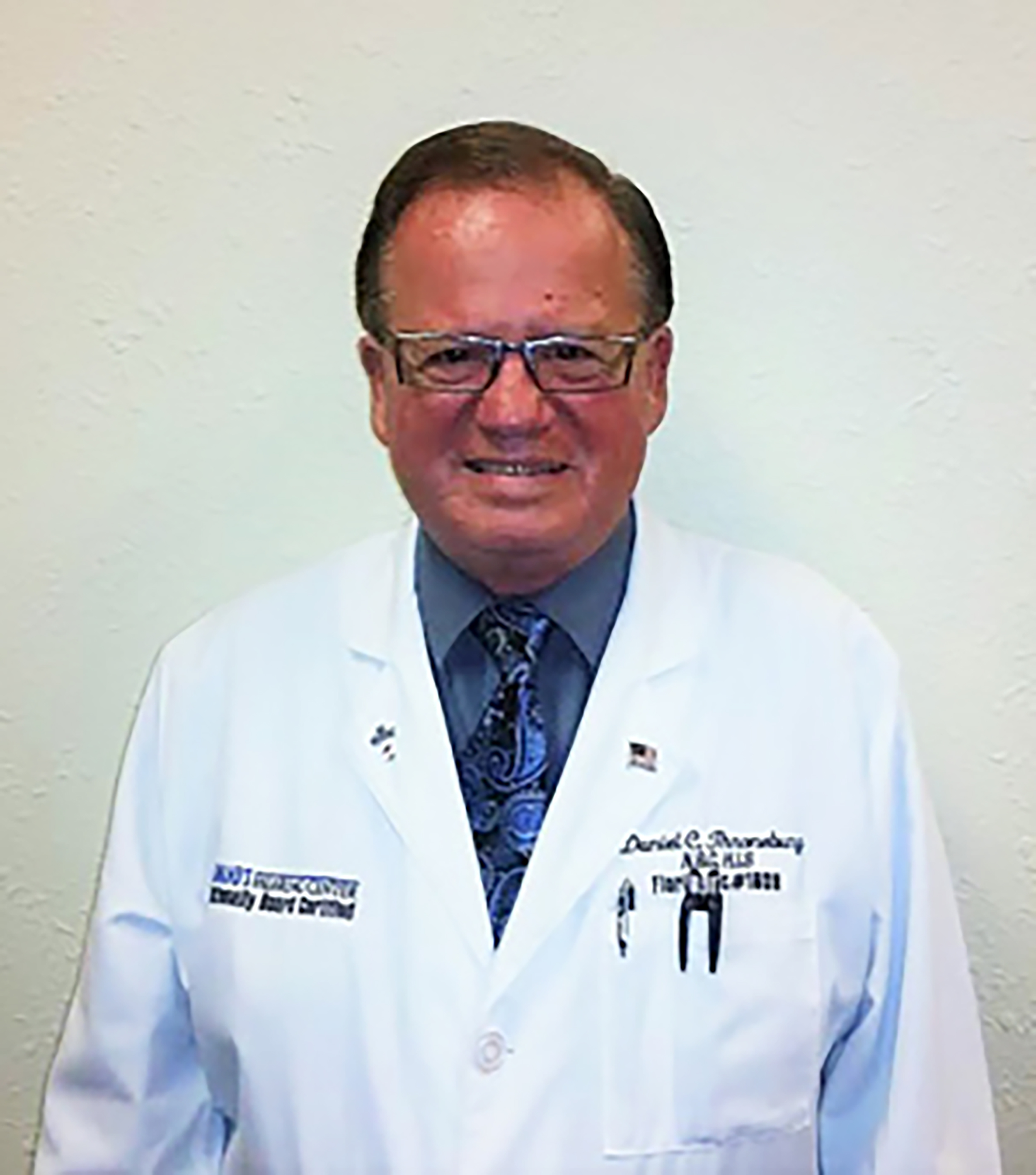 Our Hearing Aid Specialists. Daniel C. Throneburg, H.A.S.