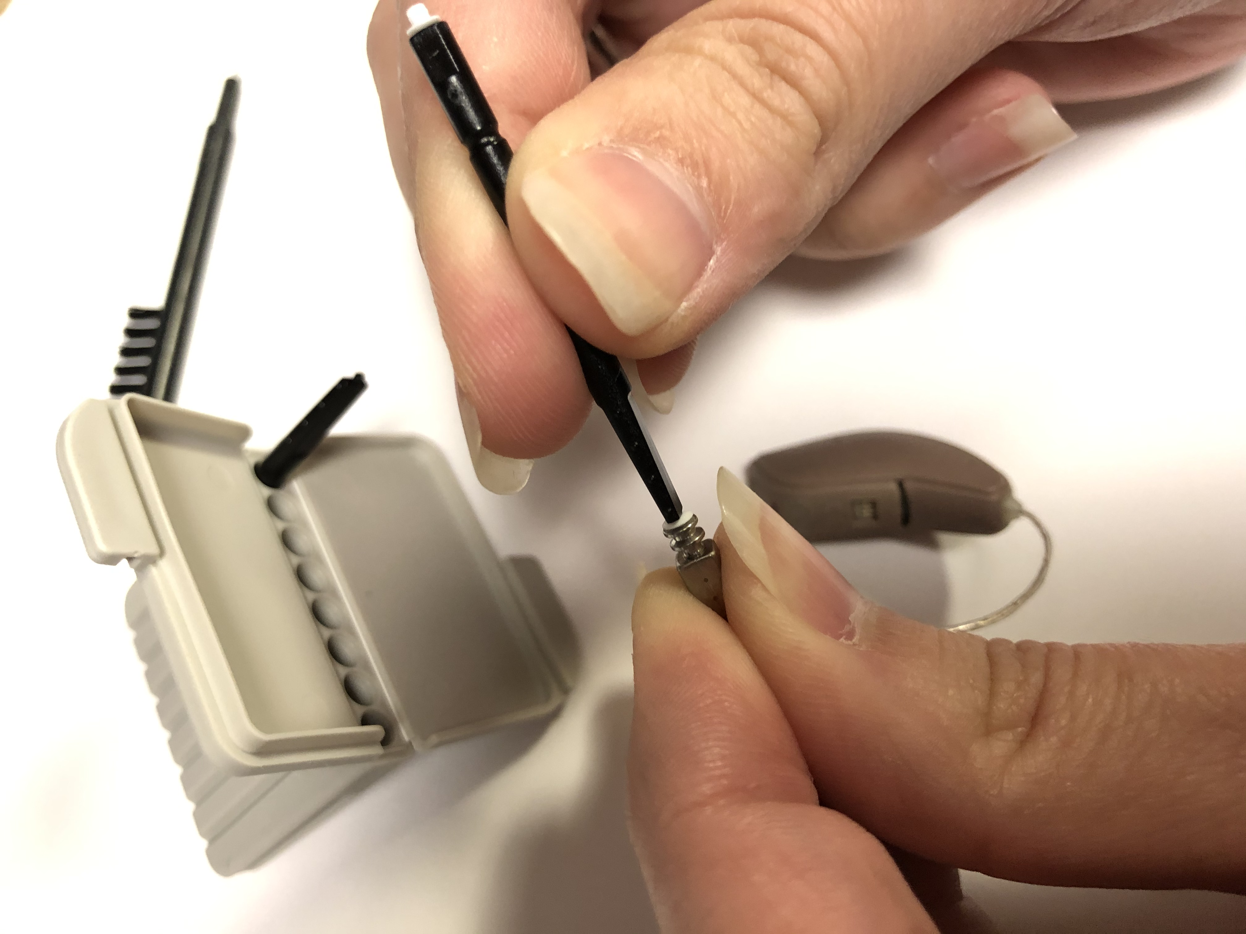 Changing Hearing Aid Filters